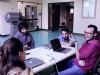 Un momento del workshop in laboratorio