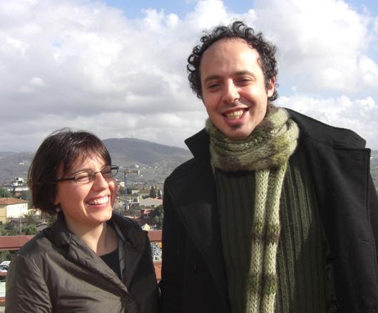 Davide Jabes e Cristina D'Addato