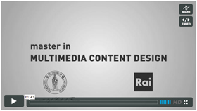 La nuova edizione del Master in Multimedia