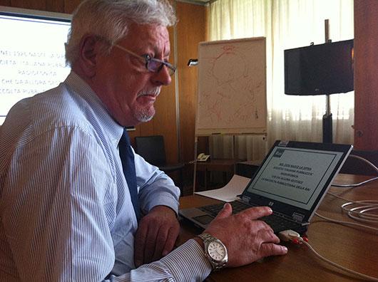 Il direttore della sede RAI di Firenze Andrea Jengo