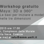 Workshop gratuito: Maya a 360°